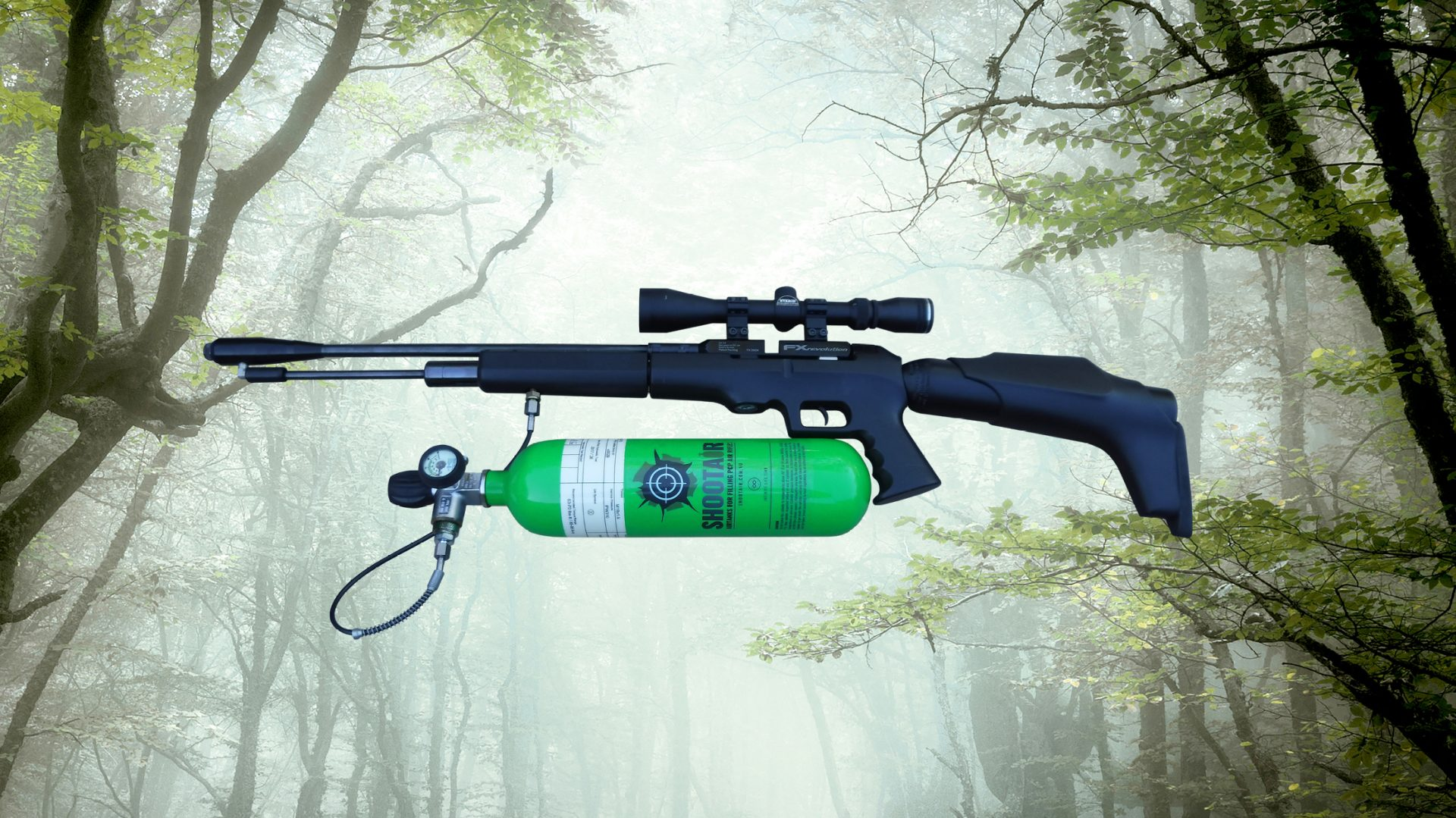 PCP Air Rifle Charging Cylinders